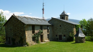 Excursion to the hermitage of Sant Antoni, Pyrennees, Ripolles